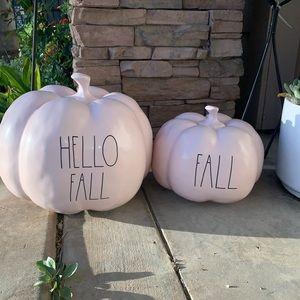 Rae Dunn fall pumpkins